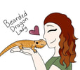 Bearded Dragon Lady